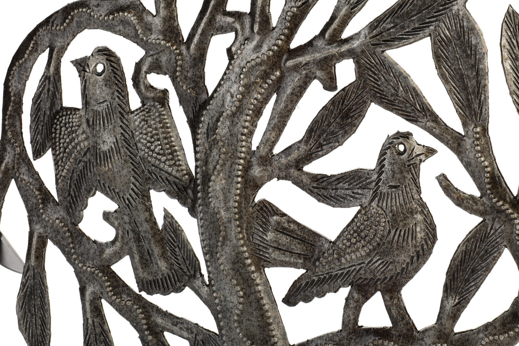 Tree of Life Metal Art from Haiti by Partners For Just Trade
