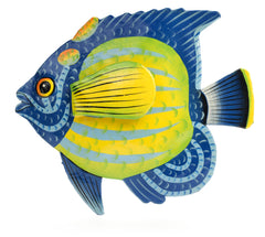 Angel Fish Metal Art from Haiti from Partners For Just Trade