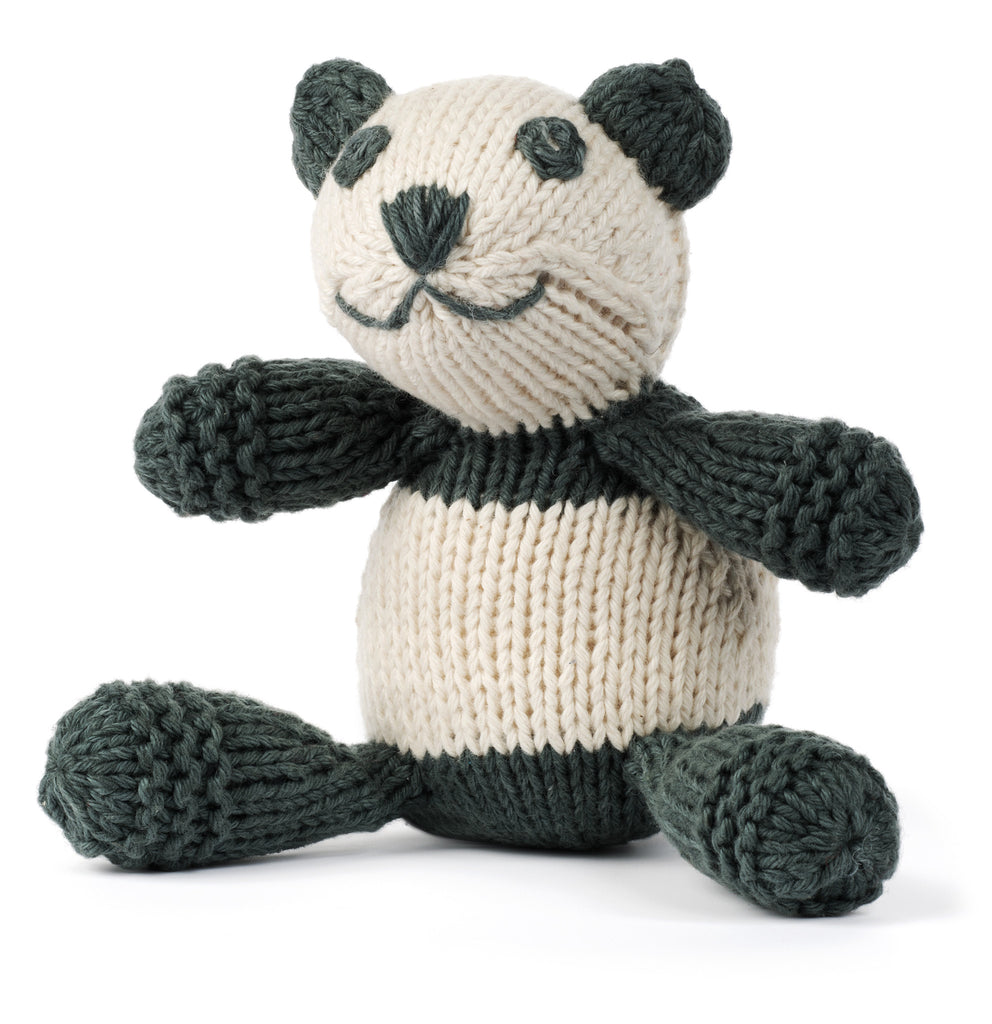 Organic Panda Stuffed Animal from Peru by Partners For Just Trade