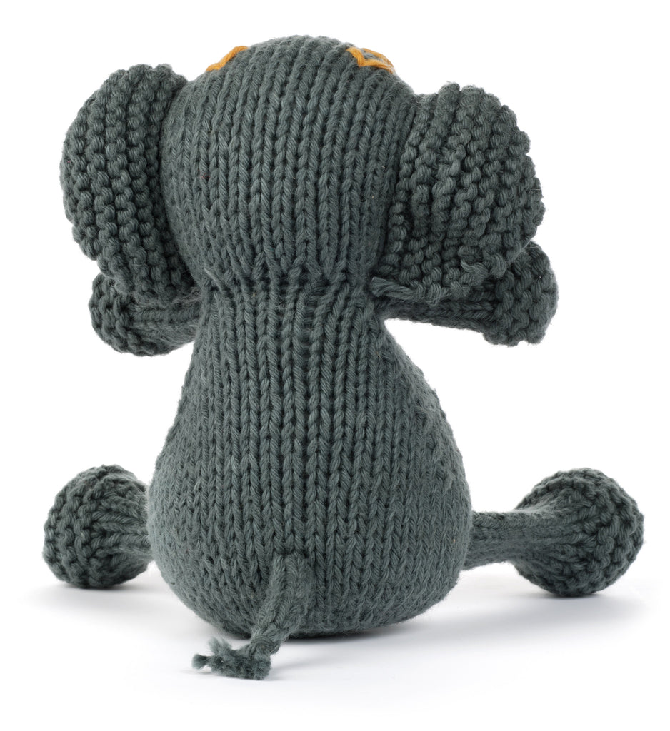 Organic Elephant Stuffed Animal from Peru by Partners For Just Trade