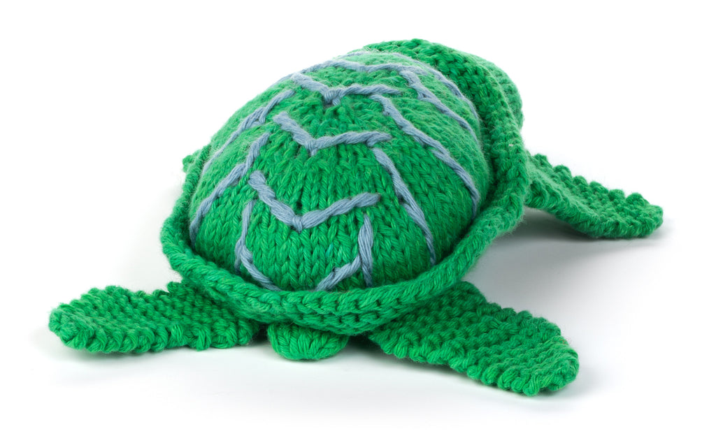 Organic Turtle Stuffed Animal from Peru by Partners For Just Trade