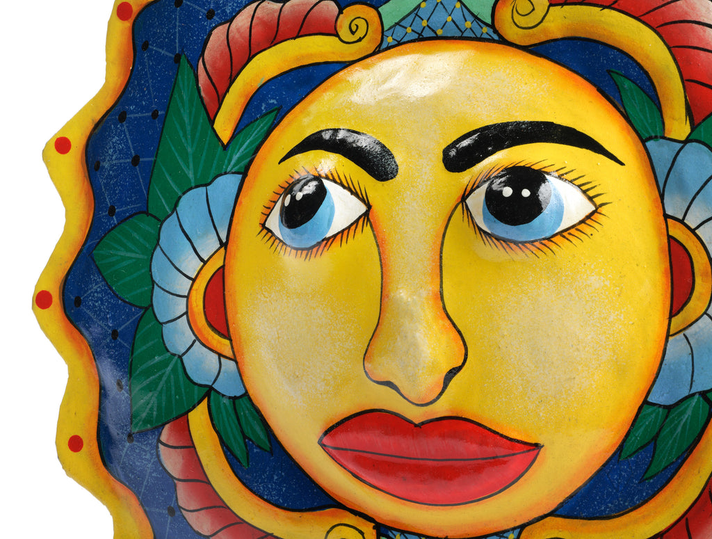 Bright Sun Haitian Metal Art by Partners for Just Trade