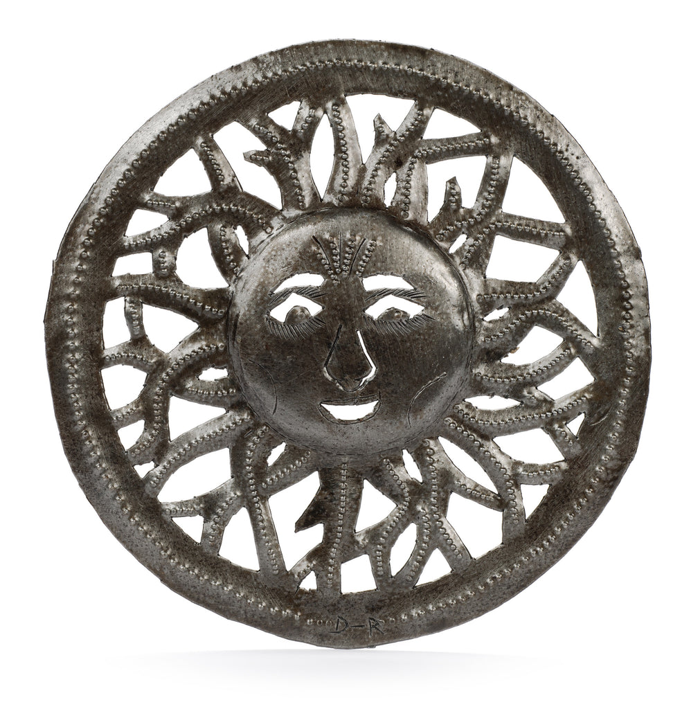 Sun Haitian Metal Art by Partners for Just Trade