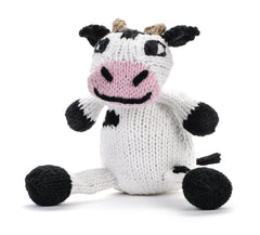Cow Stuffed Animal from Peru by Partners For Just Trade