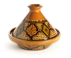 Tunisian Ceramic Pottery Tagine