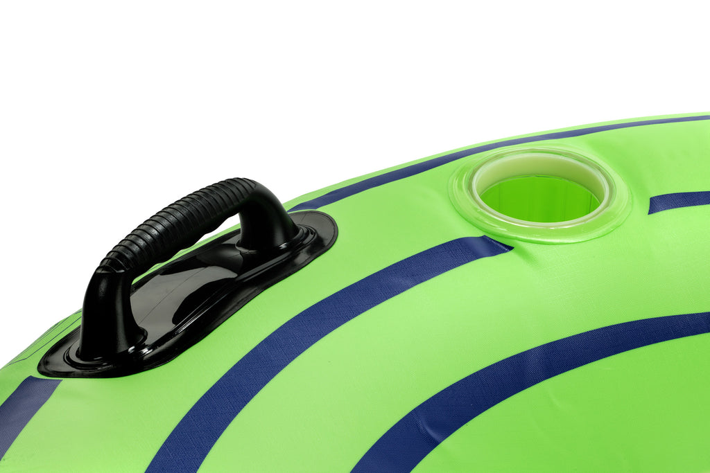 "Tube Pro Green 48"" Premium River Tube With Cupholder"