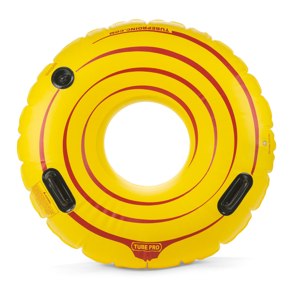 "Tube Pro Yellow 48"" Premium River Tube With Handles"