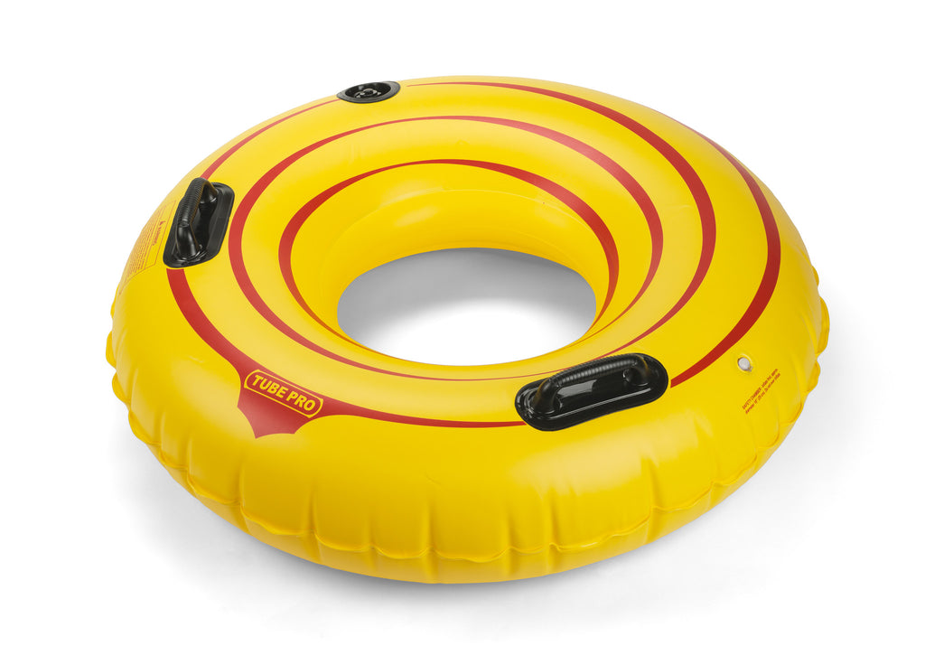 "Tube Pro Yellow 44"" Premium  River Tube With Handles"