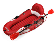 Tube Pro TubeTracker Premium  River Tube Kayak with Paddle