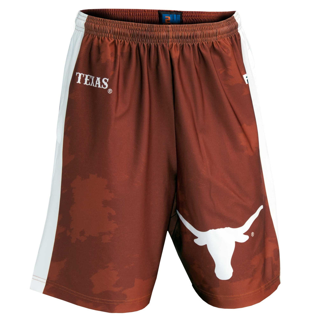Fit 2 Win Youth Texas Longhorns Burnt Orange Sublimated Short