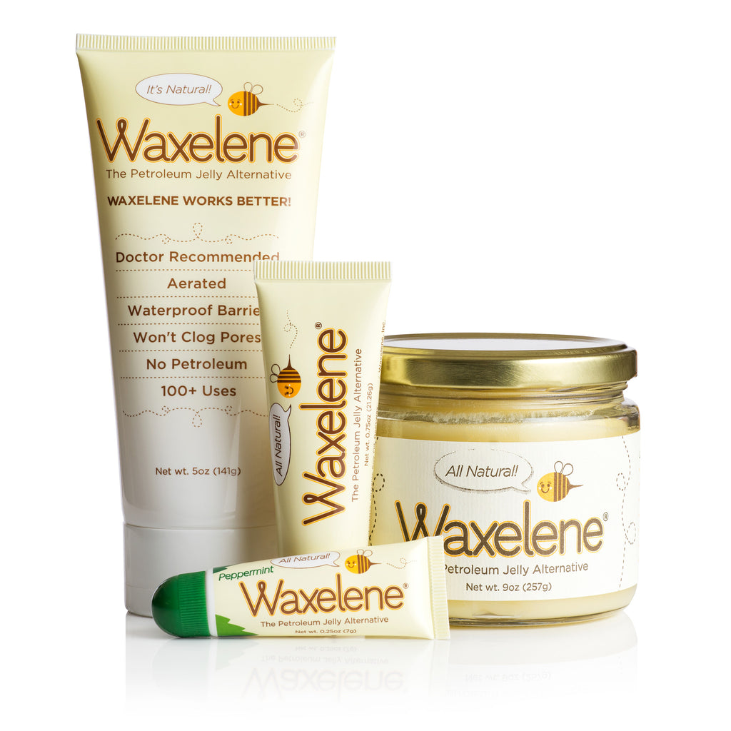 Waxelene Petroleum Jelly Alternative 4pc Multi-pack