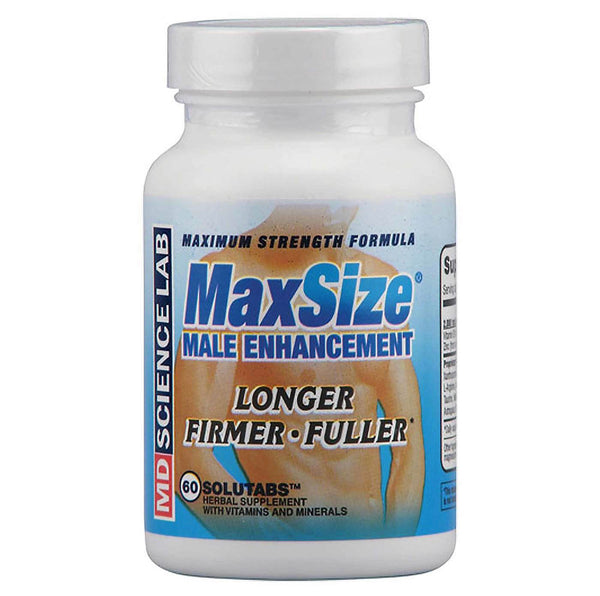 MaxSize 60 Solutabs Male Enhancement