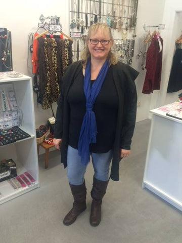 Check out our gorgeous OOSHie rocking her new Cassie Jacket in the Cambridge store