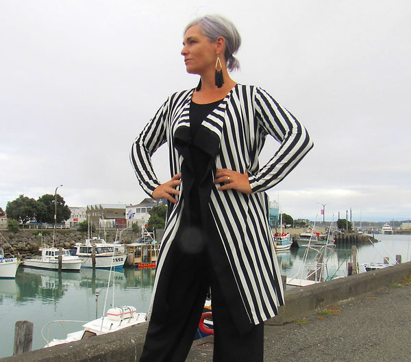 JACINDA JACKET STRIPE