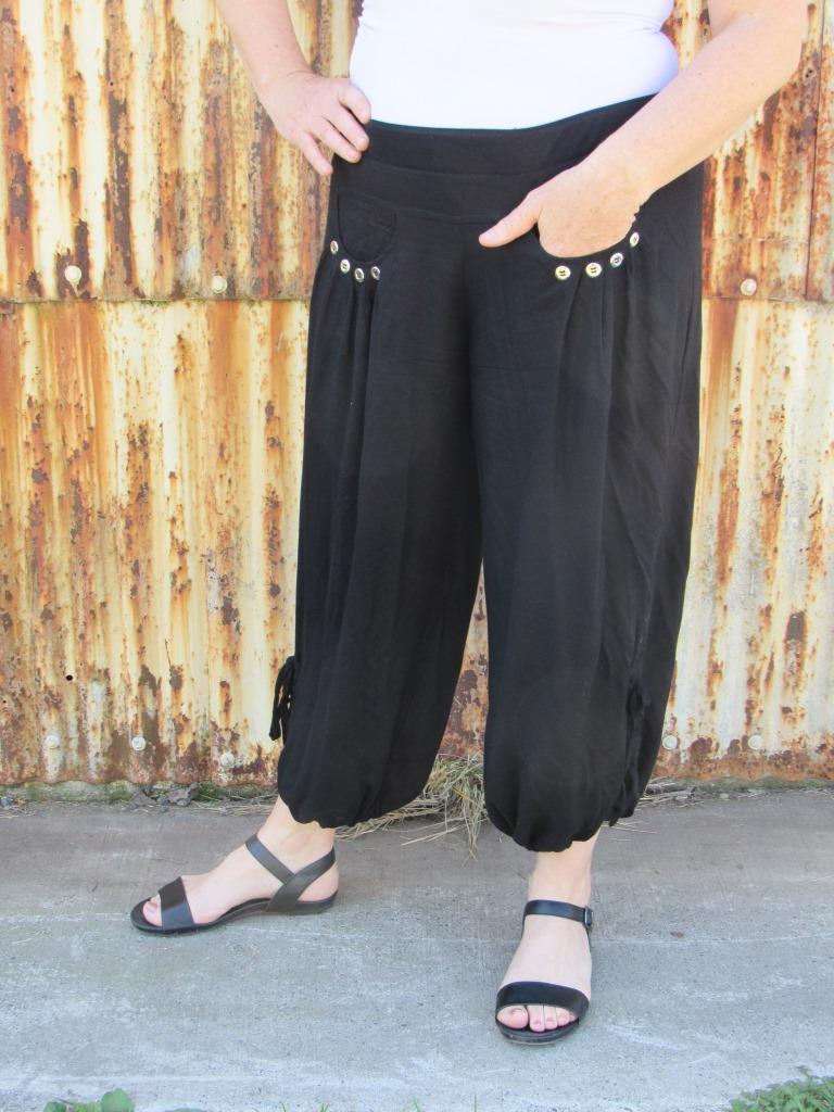 CHRISTCHURCH HAREM PANTS,  NOW ONLY $40