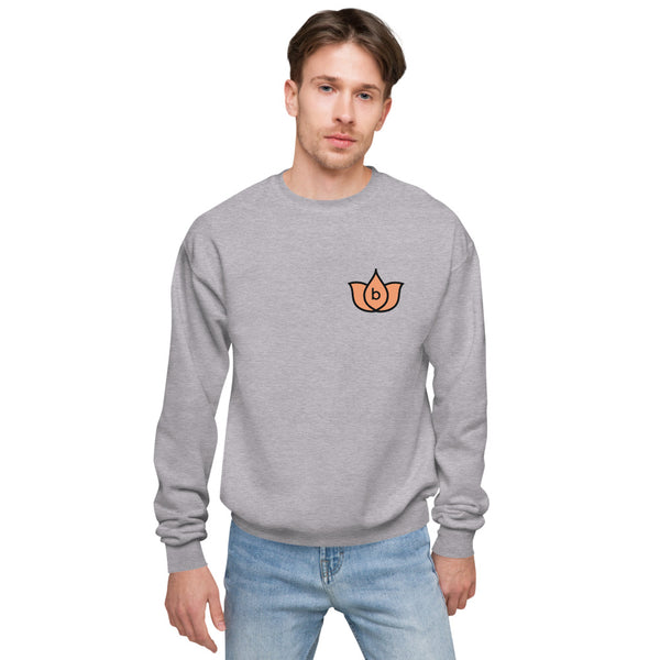 Unisex fleece sweatshirt