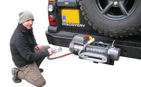 Land Rover Discovery 2 QD Winch Tray