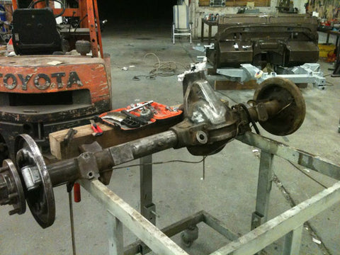 As are the axles