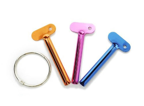 Paul Mitchell Color Tube Key Set Hair Art Metal Tube Squeezer Metal