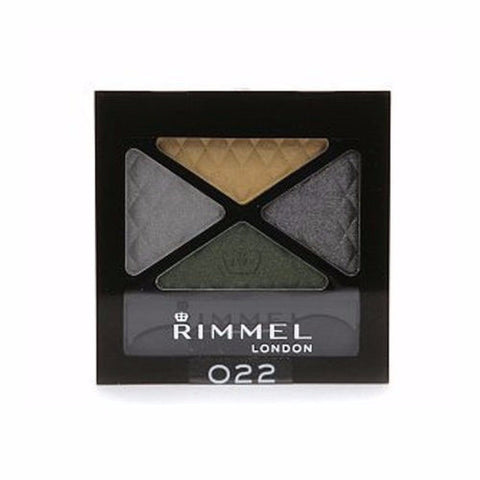 Rimmel Glam Eyes Quad Eyeshadow - 022 Thrill Seeker