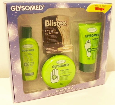Glysomed Gift Set with Blistex Bonus