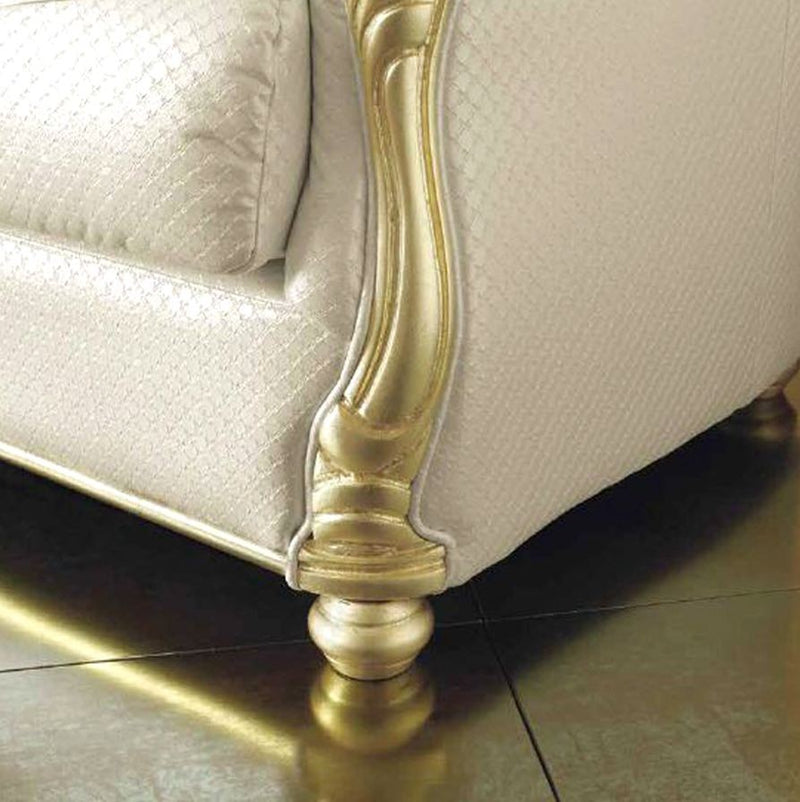 Couchgarnitur Leonardo Gold