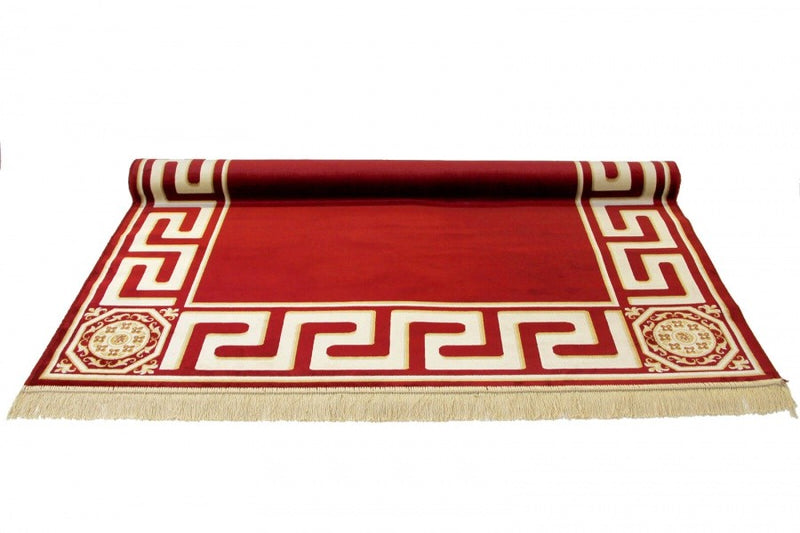 Teppich Rot Versace Muster Design
