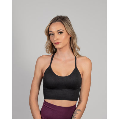 Fairy Sports Bra – Black - Aestheti Athletics