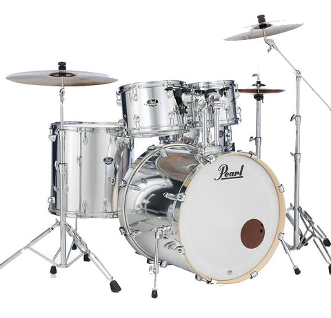 Pearl Export EXC725/C49 5pc Shell Pack in #49 Mirror Chrome