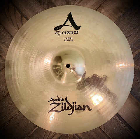 "Zildjian Custom A 16"" Crash Cymbal"