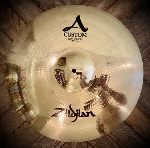 "Zildjian Custom A 18"" Fast Crash Cymbal"