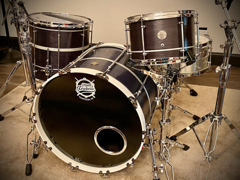 DrumPickers DP Custom Series  Navy Blue Walnut