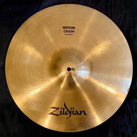 "Zildjian 18"" A Medium Crash Cymbal"