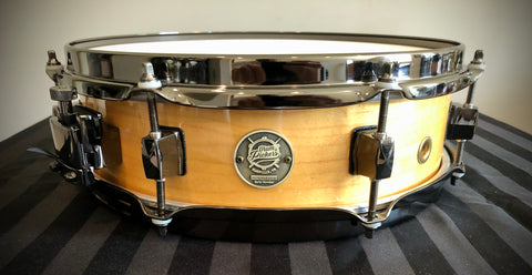 "D.P. Custom 13x3.5"" 6-ply Maple Spitfire Piccolo Snare Drum Gloss Maple"