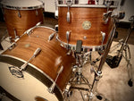 Drumpickers  DP Custom Series  in Semi-Gloss Antique Ribbon Mahogany