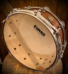 "DrumPickers DP Custom Line 14x6"" Snare Drum #31 Red Mahogany"