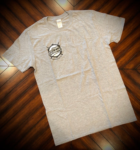 DrumPickers White or Grey Logo T-Shirt