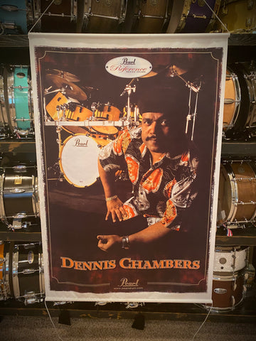 Pearl - Dennis Chambers Silk Pearl Banner