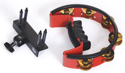 Pearl PTM50BHR  Ultra-Grip Volume Adjustable Tambourine (with brass jingles)