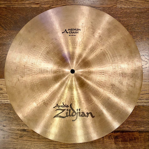 "Zildjian A 18"" Medium Crash Cymbal"