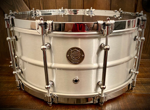 "Drumpickers DP Custom Series Aluminum 14x6.5"" Snare Drum Aluminum"