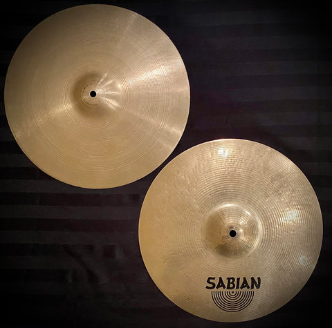 "UFIP/Sabian 14"" Ajaha Top/HHX Evolution Bottom Hi Hats"
