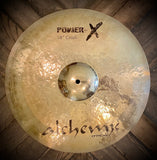 "Istanbul Alchemy Power X 18"" Hand Hammered Crash Cymbal"