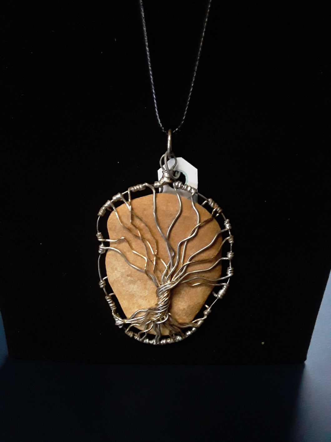 Wire-Wrapped Tree of Life Pendant Necklace by River Rock Jewelry