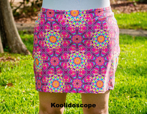 **FINAL CLEARANCE** Patterned Iggy Cover Skirt