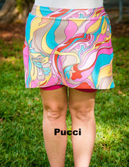 **CLEARANCE** Rosie Skirt with Shorts, Drawstring Elastic Waistband