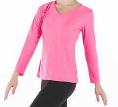 **SALE** Long Sleeve V-neck Top