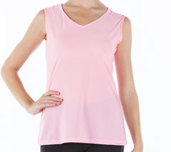 **CLEARANCE** Sleeveless V-neck Top