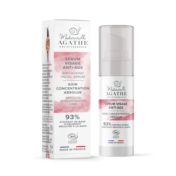 ANTI-AGING FACIAL SERUM pure extract Mademoiselle Agathe