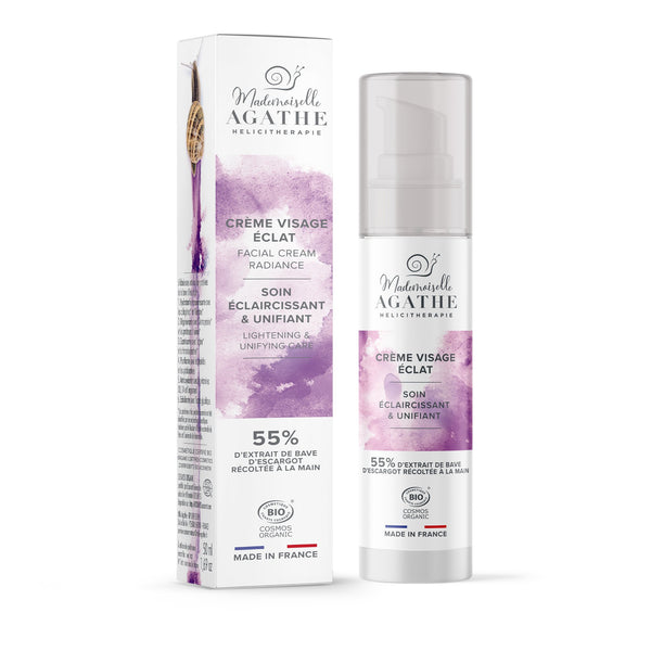 ILLUMINATING & UNIFYING facial care Mademoiselle Agathe